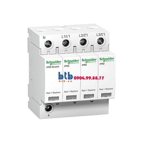 Schneider – Thiết bị chống sét lan truyền Acti 9-iPRD, loại 2, 3P+N, 400V, Draw-out 40kA