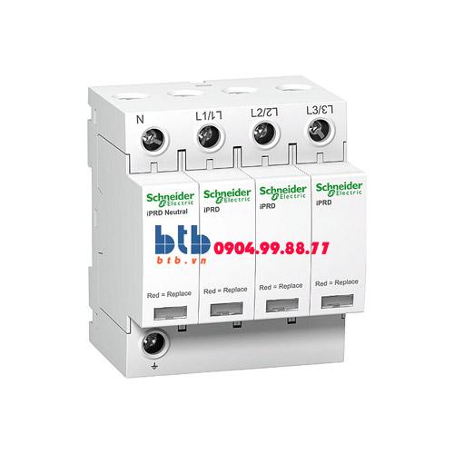 Schneider – Thiết bị chống sét lan truyền Acti 9-iPRD, loại 2, 3P+N, 400V, Draw-out 65kA