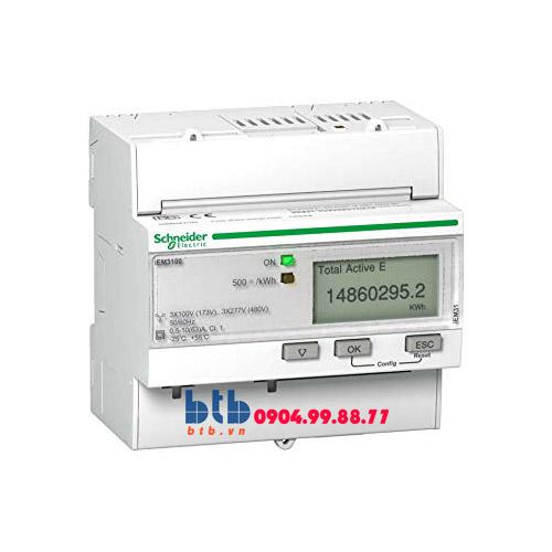 Schneider – Đồng hồ tích hợp sẵn biến dòng iEM3000 63A