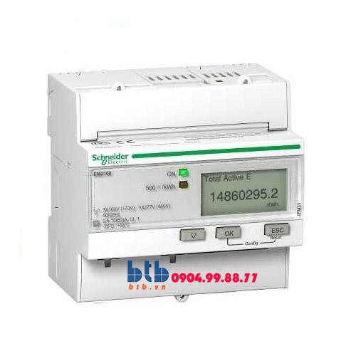 Schneider – Đồng hồ tích hợp sẵn biến dòng iEM3000 63A Bacnet