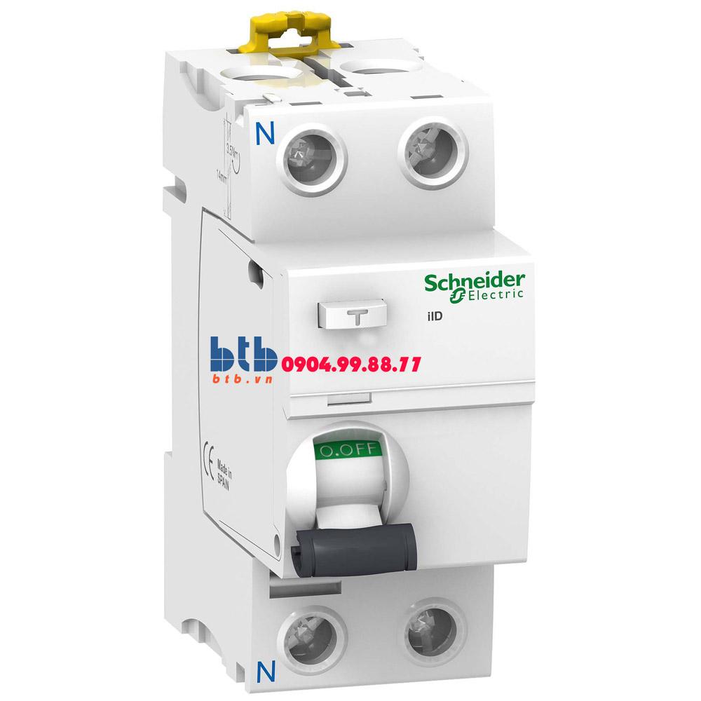 Schneider – iID-30mA,240-415V,AC Type 2P 100A