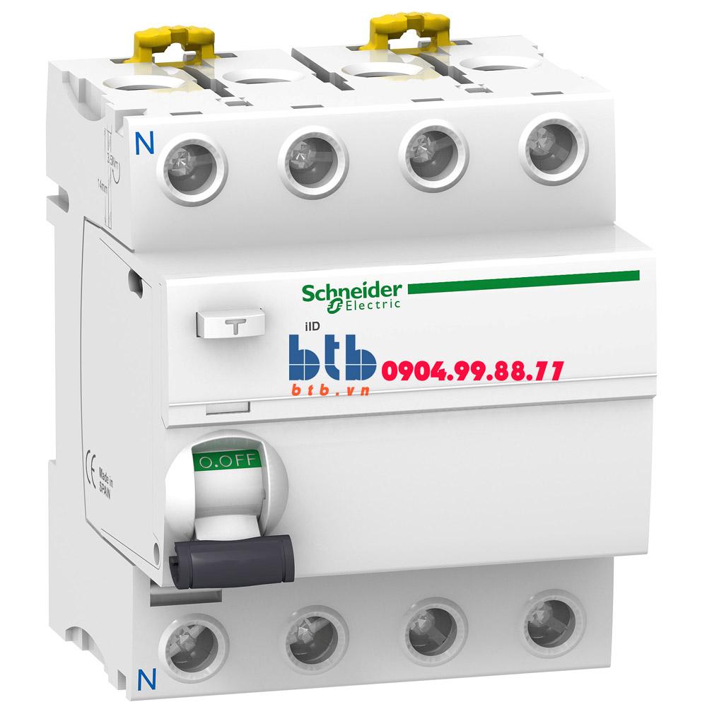 Schneider – iID-100mA,240-415V,AC Type 4P 40A