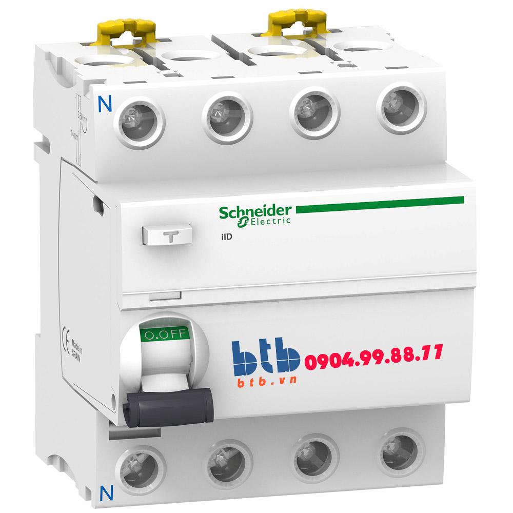 Schneider – iID-300mA,240-415V,AC Type 4P 100A