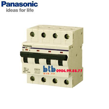 Panasonic Cầu dao tự động 4P 80A 10kA