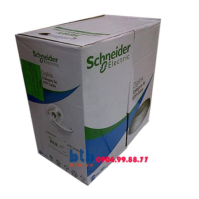 Schneider – Cáp mạng Cat5e, thùng 305m