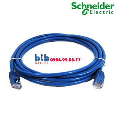 Schneider – Dây nhảy 2m, Cat5e, màu xanh dương