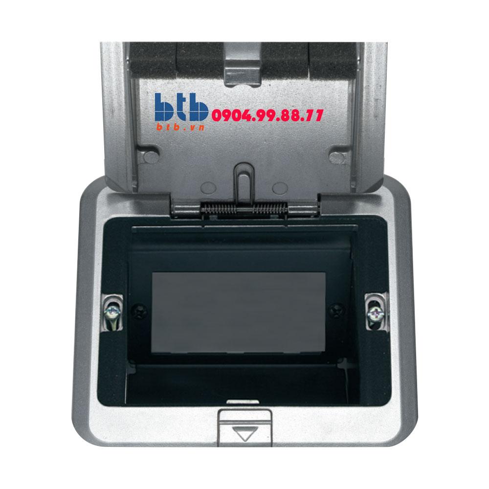 Panasonic Ổ cắm âm sàn loại 3 thiết bị DUF1200LTK-1