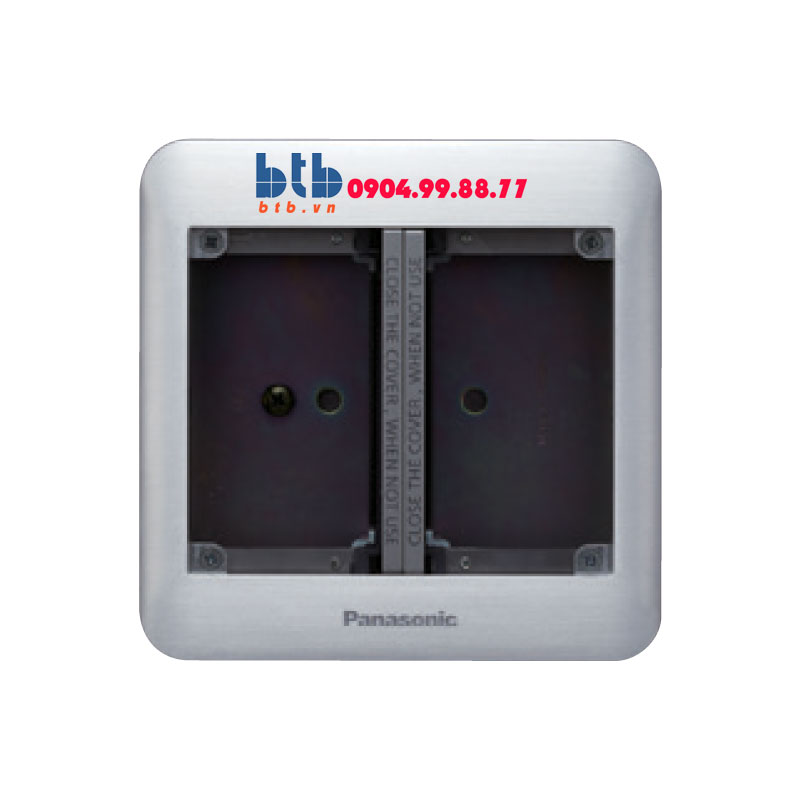 Panasonic Ổ cắm âm sàn loại 6 thiết bị DUMF3200LT-1
