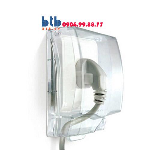 Schneider – Mặt che phòng thấm nước mặt đơn cho ổ cắm (không đế)