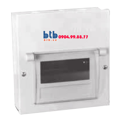 Schneider – Tủ điện âm tường vỏ kim loại KT 422x210x62