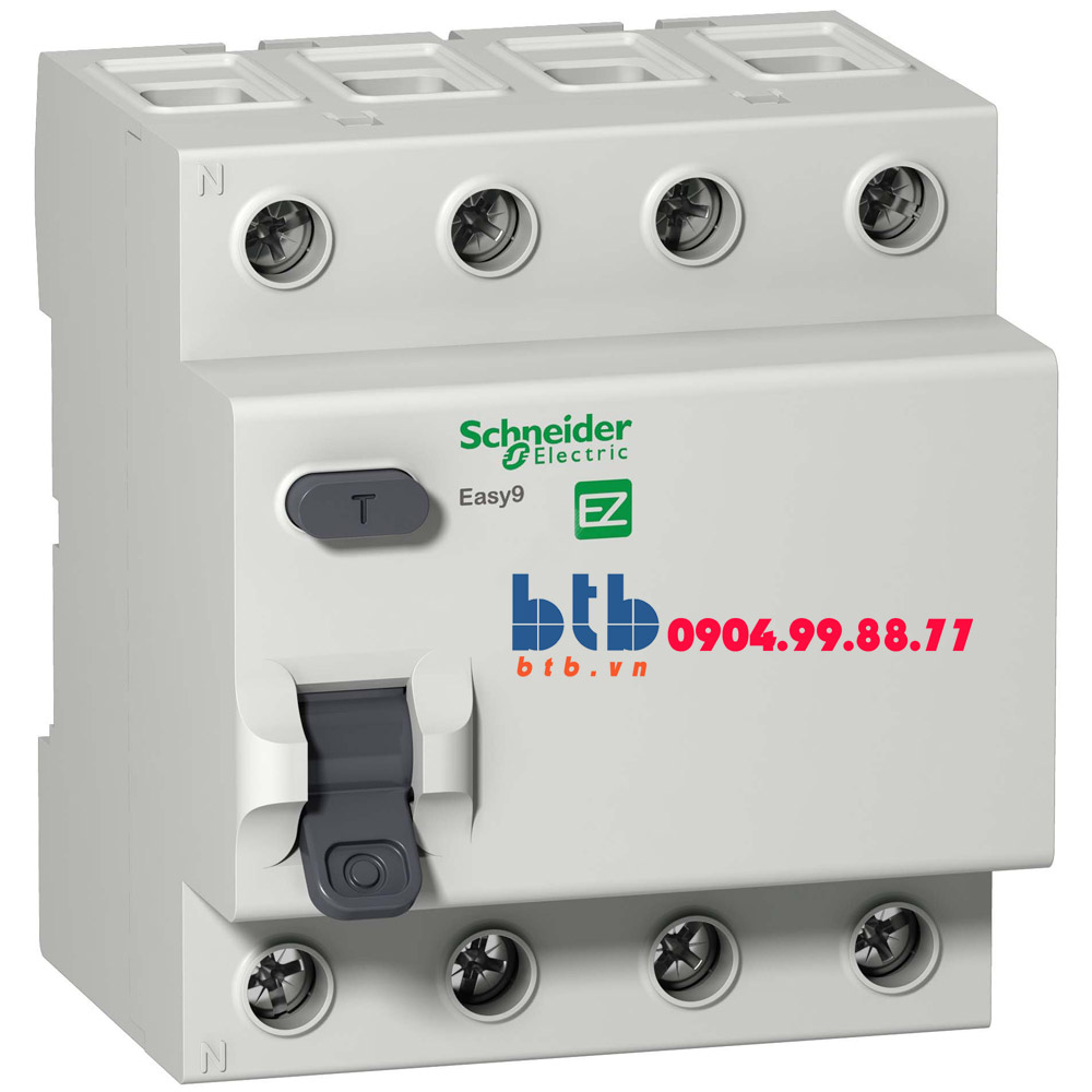Schneider – Easy9 RCCB 30mA 4P 40A
