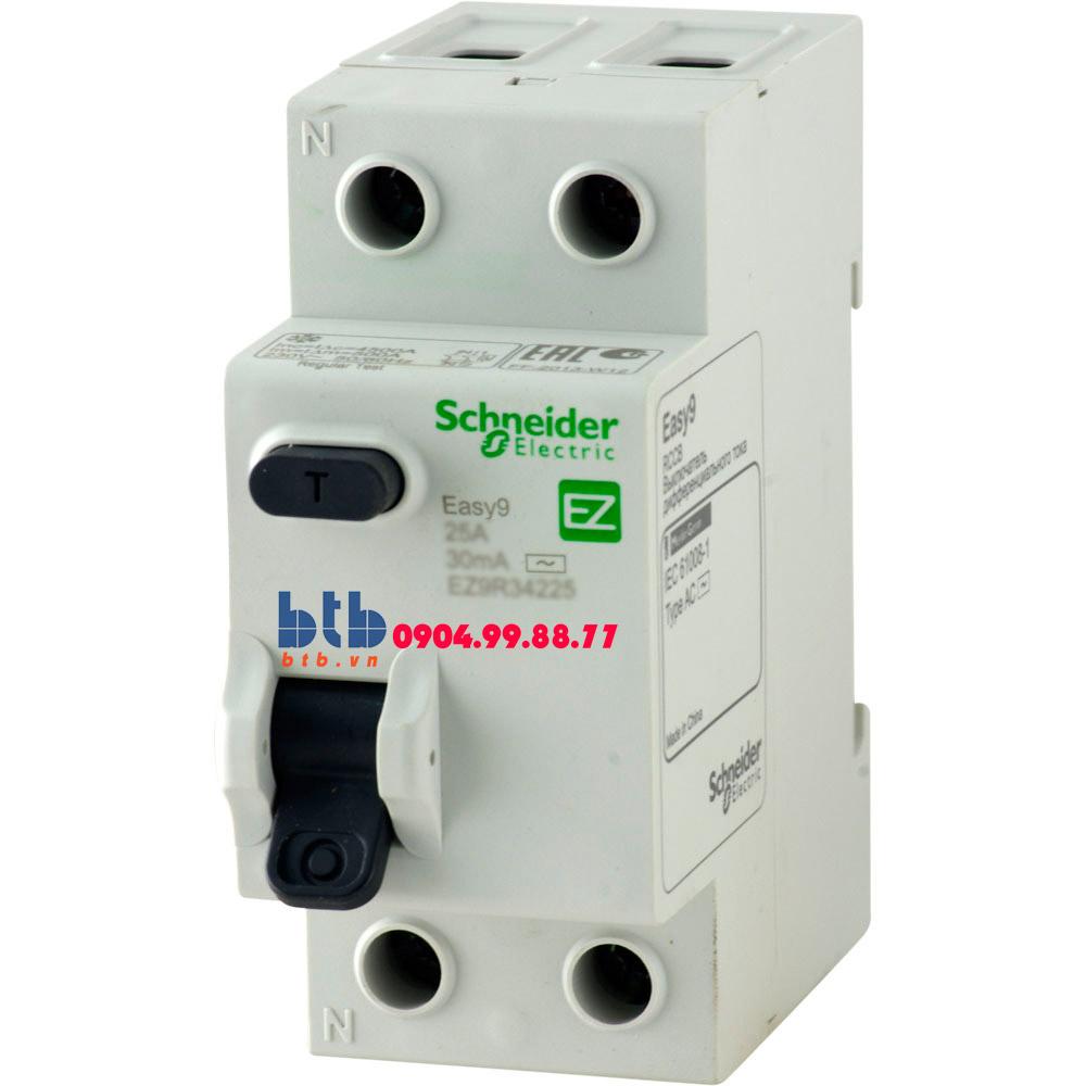 Schneider – Easy9 RCCB 30mA 2P 40A