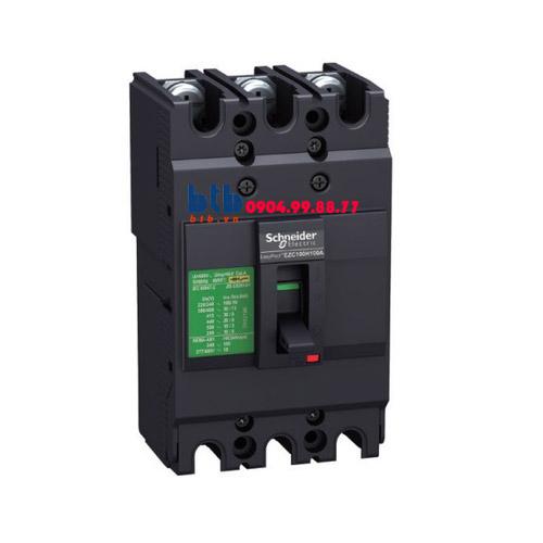 Schneider – EasyPact EZC100, 3P Type N, Icu=15kA/415V 20A
