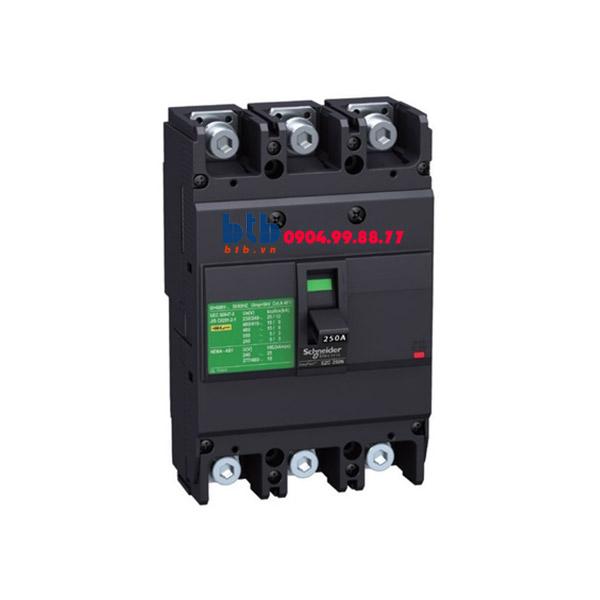 Schneider – EasyPact EZC250, 3P Type F, Icu=18kA/415V 150A