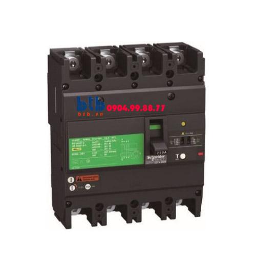 Schneider – EasyPact EZCV250, 4P Type H, Icu=36kA/415VAC 150A