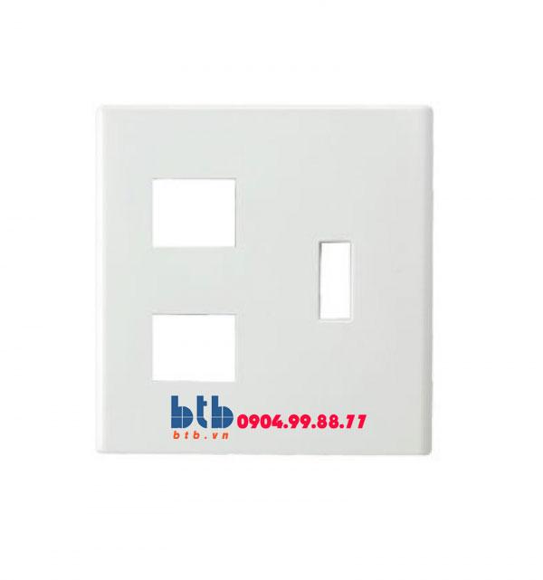 Panasonic Mặt góc vuông dùng cho 1 CB và 2 thiết bị FB7842H