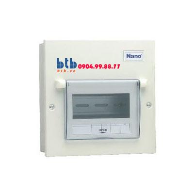 Panasonic Tủ điện vỏ kim loại chưa 4 modul FDP104