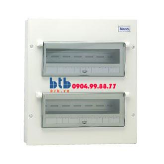 Panasonic Tủ điện vỏ kim loại chưa 24 modul FDP124