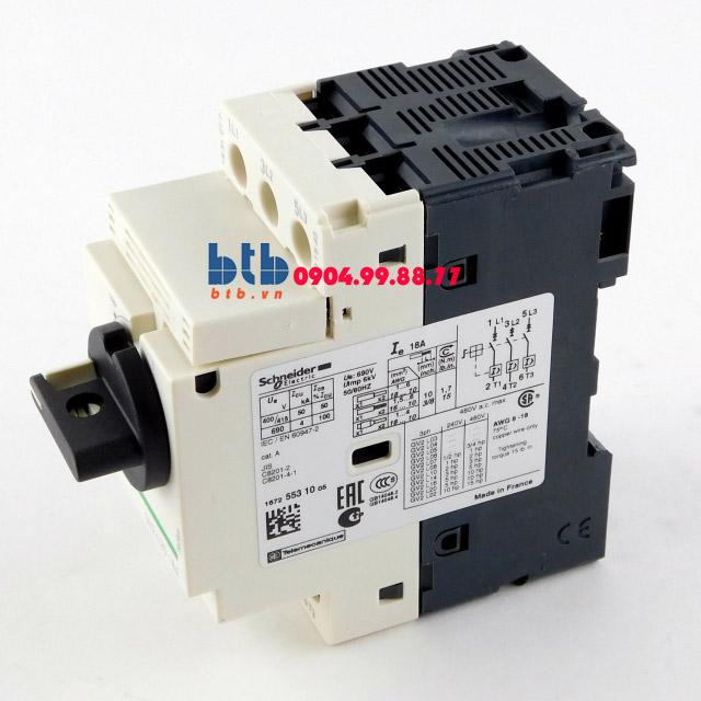 Schneider – CB Bảo vệ động cơ loại từ GV2L 0.06;0.09