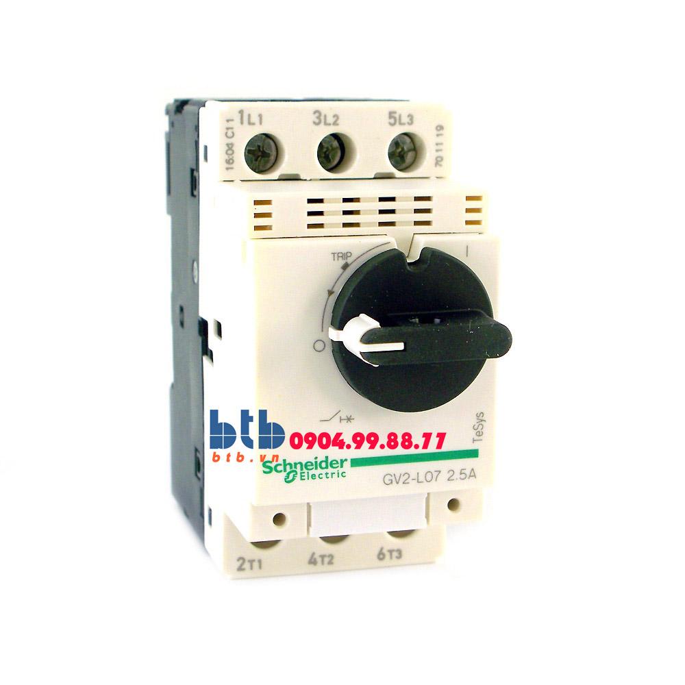 Schneider – CB Bảo vệ động cơ loại từ GV2L 0.75