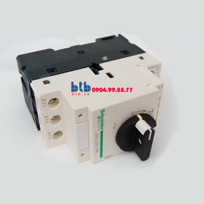 Schneider – CB Bảo vệ động cơ loại từ GV2L 7.5