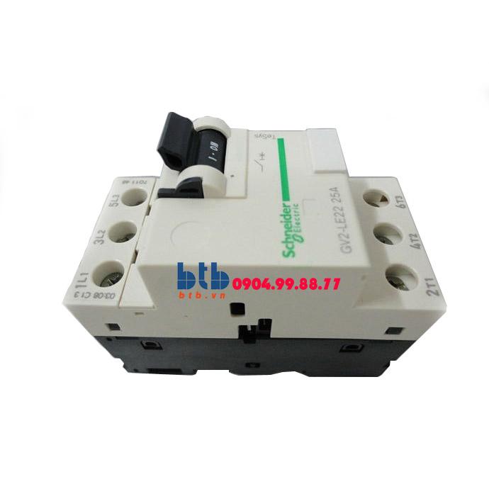 Schneider – CB Bảo vệ động cơ loại từ GV2LE 9;11