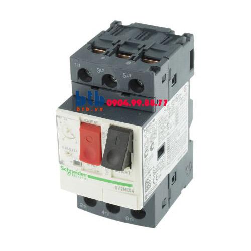 Schneider – CB Bảo vệ động cơ loại từ nhiệt GV2ME 0.12;0.18