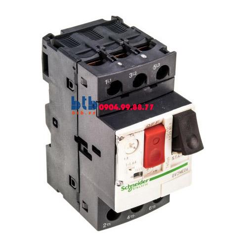 Schneider – CB Bảo vệ động cơ loại từ nhiệt GV2ME 0.37;0.55