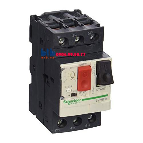 Schneider – CB Bảo vệ động cơ loại từ nhiệt GV2ME 2.2
