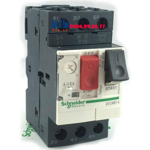 Schneider – CB Bảo vệ động cơ loại từ nhiệt GV2ME 3;4