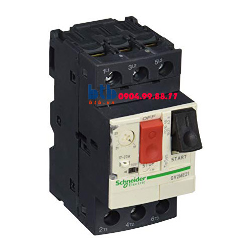 Schneider – CB Bảo vệ động cơ loại từ nhiệt GV2ME 9