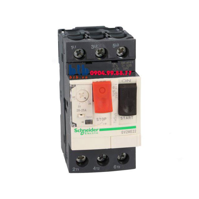 Schneider – CB Bảo vệ động cơ loại từ nhiệt GV2ME 11