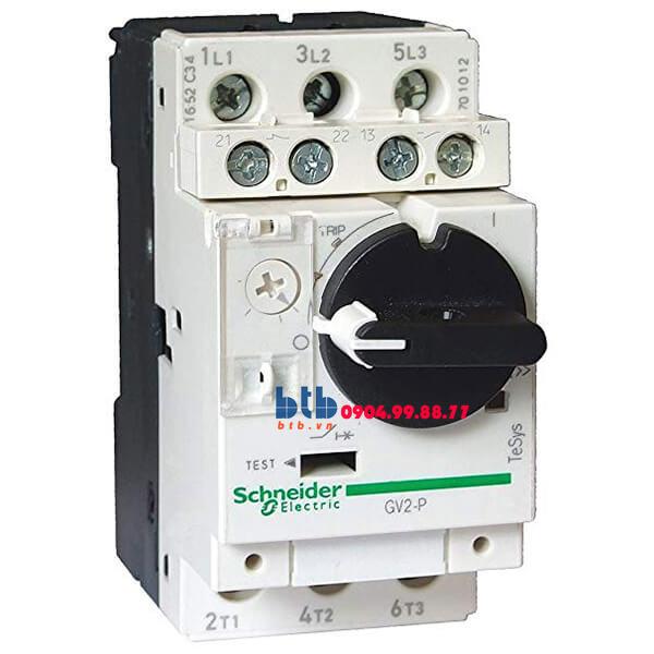 Schneider – CB Bảo vệ động cơ loại từ nhiệt GV2P