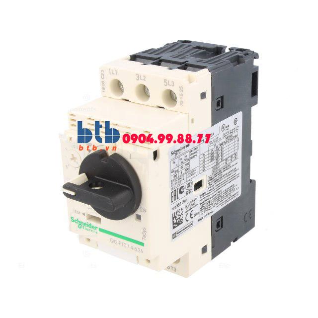 Schneider – CB Bảo vệ động cơ loại từ nhiệt GV2P 2.2