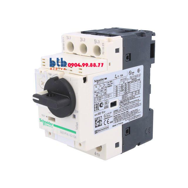 Schneider – CB Bảo vệ động cơ loại từ nhiệt GV2P 3;4