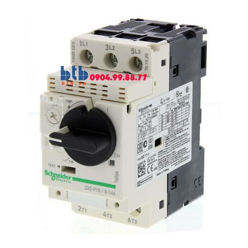 Schneider – CB Bảo vệ động cơ loại từ nhiệt GV2P 5.5