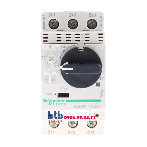 Schneider – CB Bảo vệ động cơ loại từ nhiệt GV2P 9