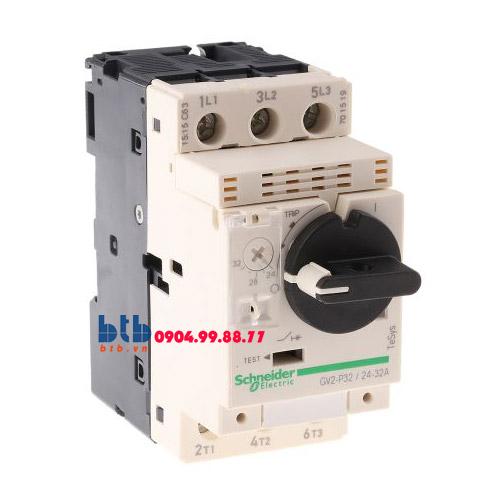 Schneider – CB Bảo vệ động cơ loại từ nhiệt GV2P 15