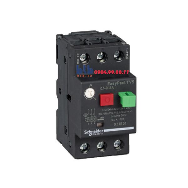 Schneider – CB Bảo vệ động cơ loại từ nhiệt GZ 0.1…0.16
