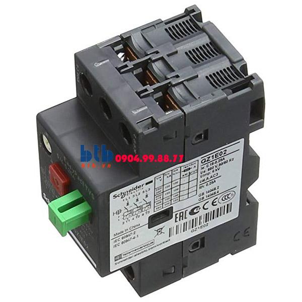 Schneider – CB Bảo vệ động cơ loại từ nhiệt GZ 0.16…0.25