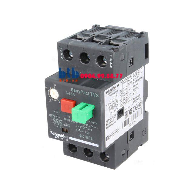 Schneider – CB Bảo vệ động cơ loại từ nhiệt GZ 1…1.6
