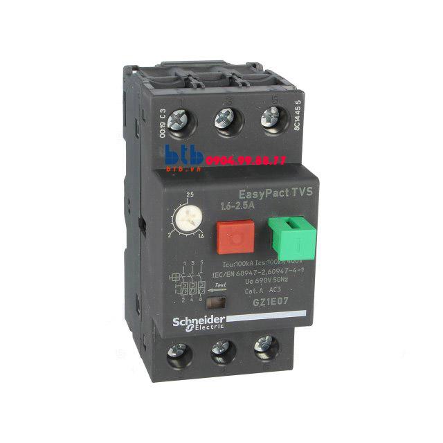Schneider – CB Bảo vệ động cơ loại từ nhiệt GZ 1.6…2.5