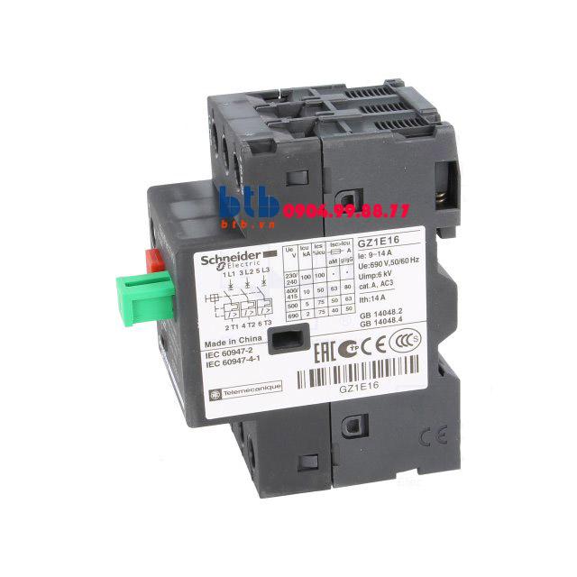 Schneider – CB Bảo vệ động cơ loại từ nhiệt GZ 9…14