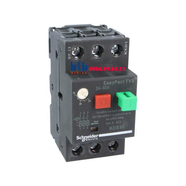 Schneider – CB Bảo vệ động cơ loại từ nhiệt GZ 24…32
