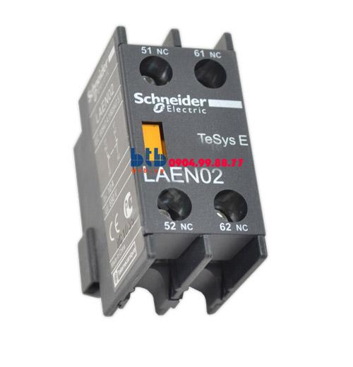 Schneider – Khối tiếp điểm phụ gắn ở mặt trước 2NC
