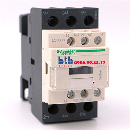 Schneider – Khởi động từ với cuộn dây điều khiển loại AC 18.5/38