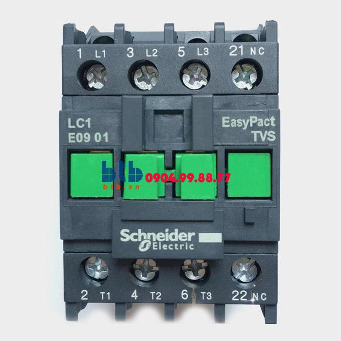 Schneider – Khởi động từ có cầu đấu nối bàng ốc vít N/C 4KW