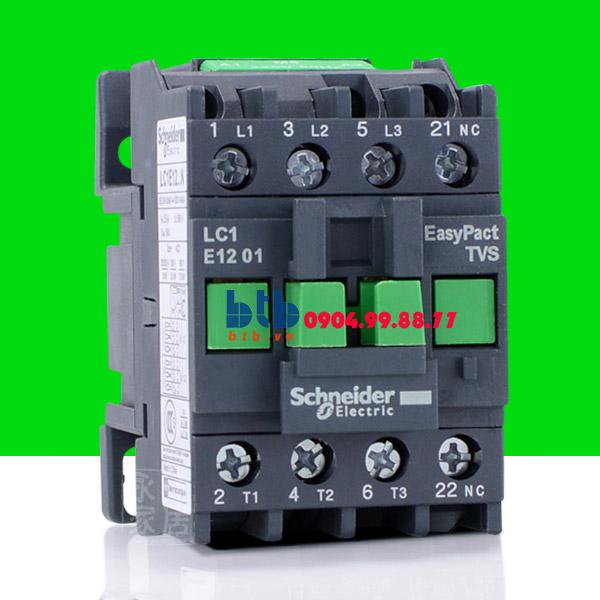 Schneider – Khởi động từ có cầu đấu nối bàng ốc vít N/C 5.5 KW
