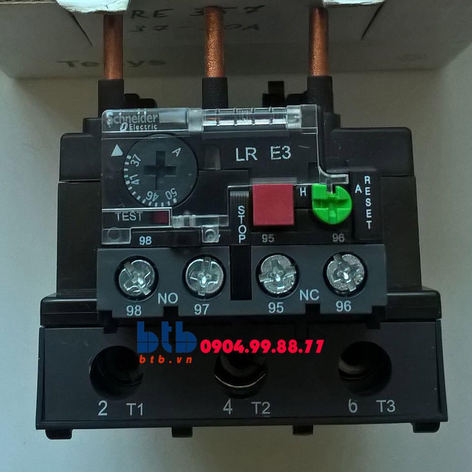 Schneider – Rơ le nhiệt hợp bộ với khởi động từ có cầu đầu nối bằng ốc vít 37…50