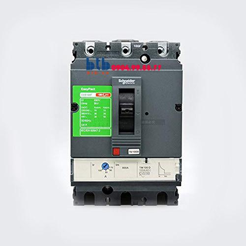 Schneider – EasyPact CVS100F, 3P Type F, Icu=36kA/415V 25A